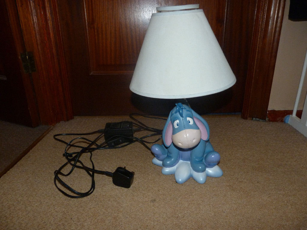Gorgeous Disney Eeyore Table Lamp | in Derby, Derbyshire | Gumtree