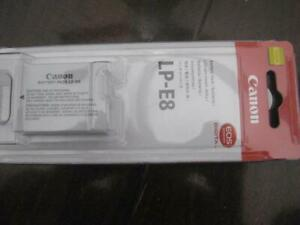 Canon LP-E8 Battery for Canon EOS Rebel T6i / T5i / T4i / T3i / T2i DSLR Camera / Camcorder. Original Canon. NEW