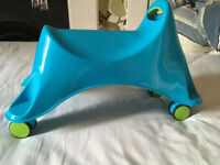 Blue Whirlee Ride on Toy