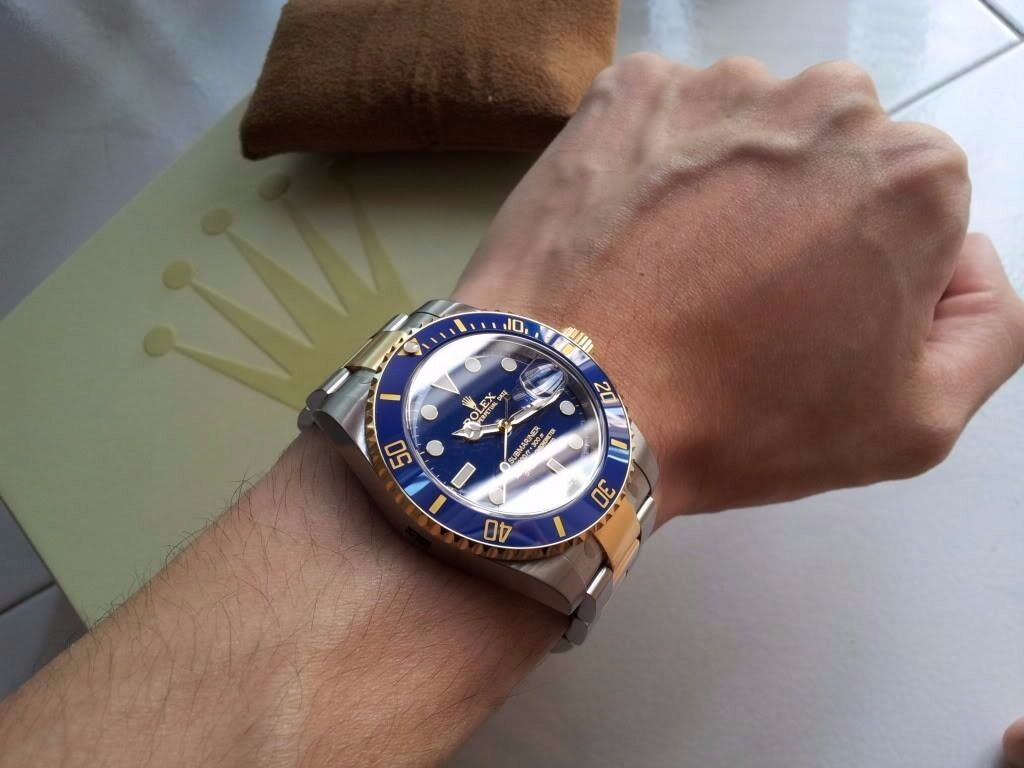 Rolex submariner 116613LB in Dudley West Midlands Gumtree : 86 from www.gumtree.com size 1024 x 768 jpeg 68kB