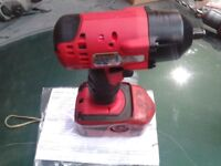 """snap on REFURBISHED 3/8 impact gun """" UN USED from refurb """" read spec bellow £170ono no silly oferl"""