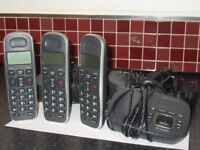 BT Triple Phone Set