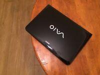 Sony Vaio Laptop (Intel Core i3 + 4 GB + 500 GB + Built in webcam+ Windows 7 + Good condition)