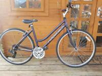 "Ridgeback rapid motion unisex hybrid bike. 19"" medium frame. Fully working"