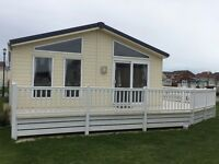 **PRE-OWNED 40ft x 20ft LODGE WITH HUGE DECKING - IMMACULATE CONDITION**