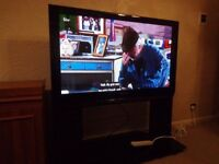 excellent condition panasonic 46 inch hd tv with freesat and FREE DELIVERY