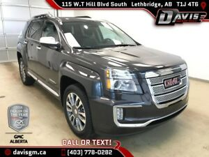 Used 2016 GMC Terrain Denali-AWD-Navigation,Heated Leather,Sunro
