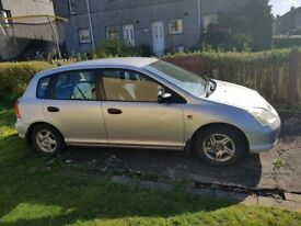 2002 HONDA CIVIC 1.4i SE 5dr