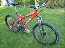 Specialized Stumpjumper Expert Full Suspension Mountain Bike