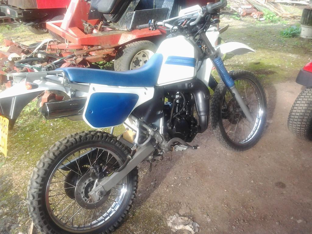 kawasaki kmx 125 b1 1987 795 in kingsteignton devon gumtree. Black Bedroom Furniture Sets. Home Design Ideas