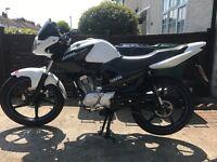 Yamaha YBR 2014 fuel injection