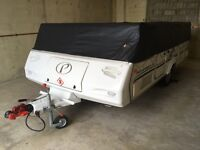 Pennine Pathfinder Q6- Folding Camper - (Dec 2012)