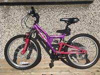 Girls Bike Purple Apollo