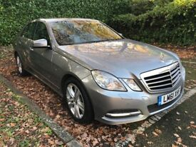 SOLD SOLD MERCEDES BENZ E250 CDI, AVANT GARDE, 7G AUTOMATIC 2011 (61 PLATE) NAVIGATION, ONE OWNER