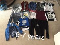 Boys size 5-8 clothes