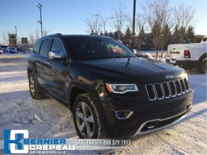 2016 Jeep Grand Cherokee Overland **GPS, SUSPENSION A AIR, TOIT