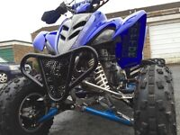 Road legal quad bike. Yamaha raptor 350R.