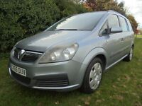 CHEAP NEW SHAPE ZAFIRA 7 SEATER WITH HISTORY INCLUDING CAMBELT.