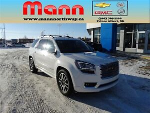 2014 GMC Acadia Denali - Pst paid, Sunroof, Leather, Remote star