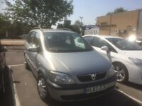 Excellent 7 seater Zafira