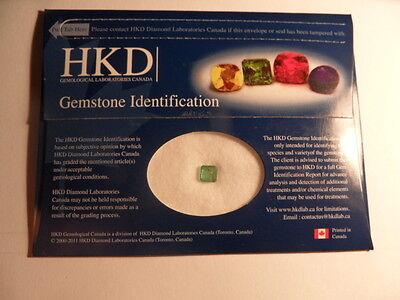 Better Grade Certified 1.06ct Emerald Cut Emerald Gemstone!!!