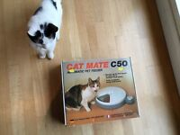 Brand new Cat Mate C50 Automatic Pet Feeder