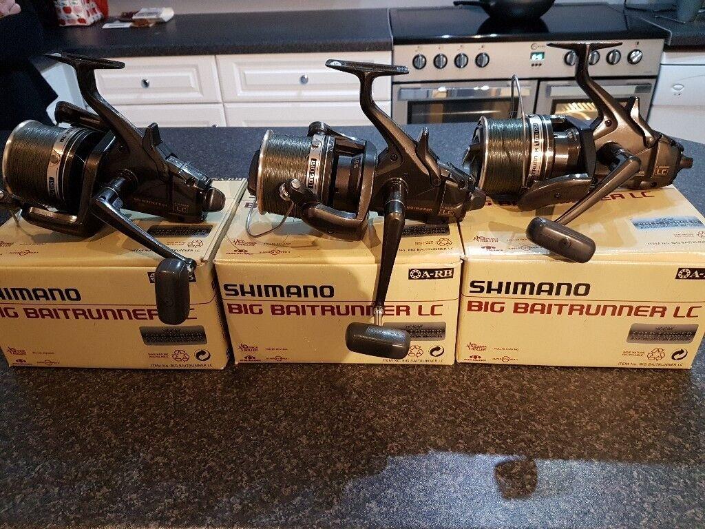 Shimano big baitrunner lc originalx3