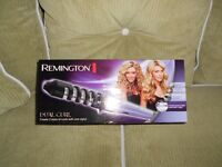REMINGTON DUAL CURL, CREATE 2 SIZES OF CURL WITH ONE STYLER !!