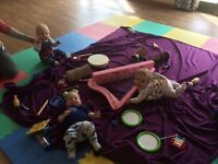 Tune Tots Baby and Toddler Music Class