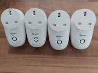 Sonoff s26 wifi smart sockets x4