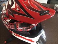 Moto x helmet. Adult medium