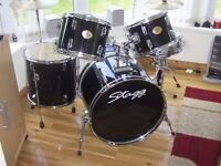 stagg 5 piece drumkit