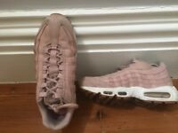 Ladies size 7 pink second hand Nike trainers .