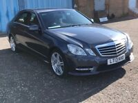 2013 Mercedes Benz E CLASS 2.1 cdi auto sport, mot - February 2018, only 48,000 miles,audi,bmw,vw,