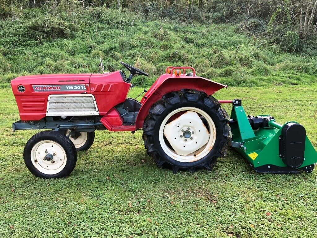 Yanmar 2010 2WD Compact Tractor with New 4ft Flail Mower, 24HP, Nice  Tractor | in Gloucester, Gloucestershire | Gumtree