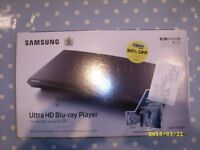 Samsung UBD – 9000 blu ray player