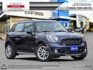 2015 MINI Cooper Countryman S AWD COOPER S AWD SUNROOF