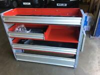 Van Racking Shelve storage for commercial vehicle