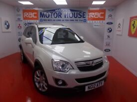 Vauxhall Antara SE CDTI(FULL LEATHER) FREE MOT'S AS LONG AS YOU OWN THE CAR!!! (white) 2012