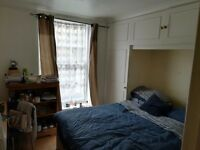Double room in a 2 bedroom flat in a flatshare with only one other person