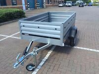 car box trailer camping THULE Brenderup 1205XL