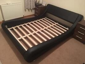 Bed frame size double