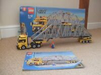 Lego 7900 City Heavy Loader (now retired) with instructions and original box