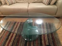 GLASS COFFEE TABLE FOR SALE RRP 249