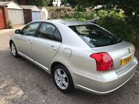 2004 Toyota Avensis 1.8 VVT-i T3-X 5dr *AUTOMATIC* @07445775115