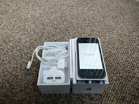 Apple iPhone 4s - Black - 8GB - Unlocked - With packaging and charger