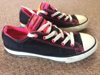 Converse All Star girls trainers