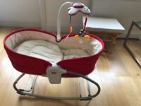 Tiny Love 3-in-1 Rocker Napper - Red from a pet free and smoke free home, bought new 3 months ago