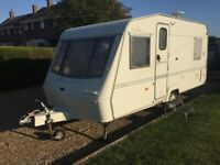 Bargain Elddis 1997 (5 Berth) Family Caravan End L Shape V.G.C & Porch Awning