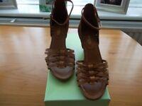 Ladies Wedge Ankle Strap Sandals